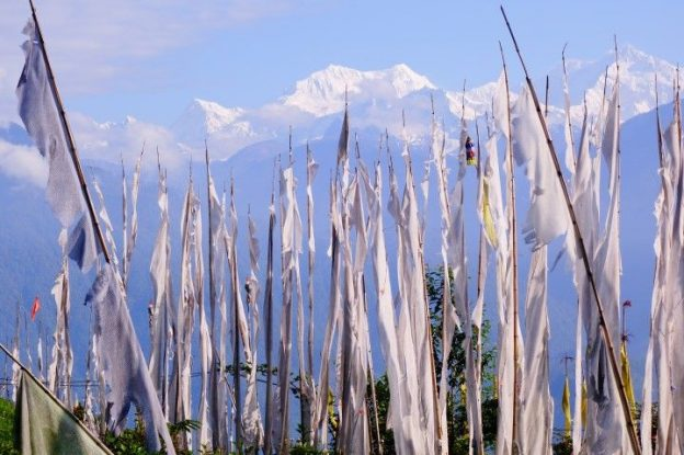Khangchendzonga à Pelling photo blog voyage https://yoytourdumonde.fr