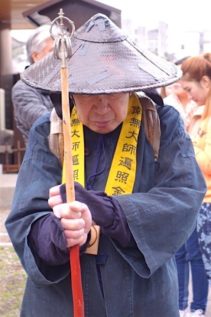 Mon arrivé à Nagano en mode Jedi. Photot blog voyage tour du monde japon https://yoytourdumonde.fr