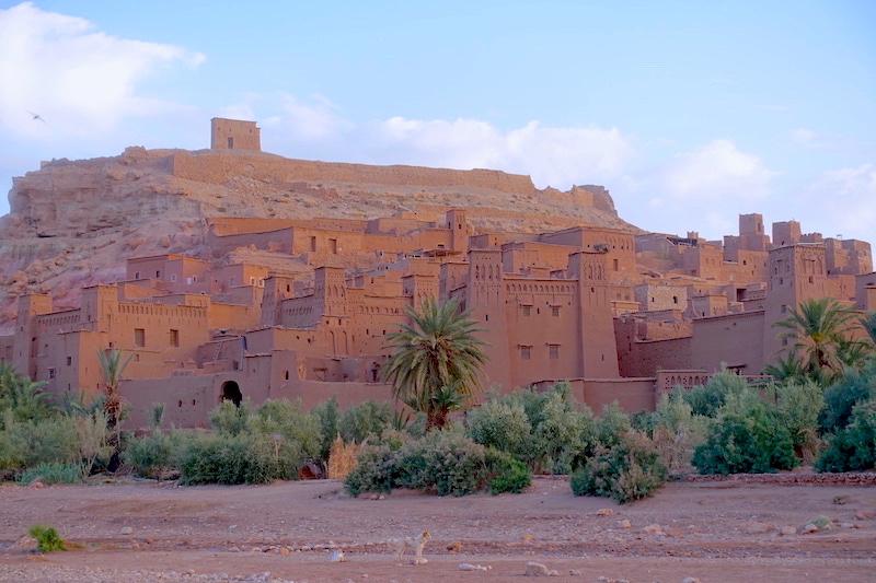 Ait Ben Haddou ville du désert photo blog voyage tour du monde https://yoytourdumonde.fr