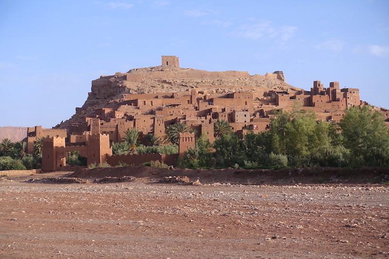 Ait Ben Houdd chateau désert maroc photo blog tour du monde https://yoytourdumonde.fr