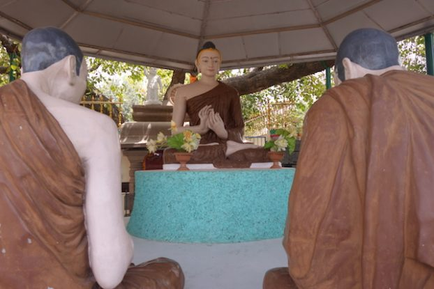 Bouddha est son premier discours en tant qu'homme illuminé. Phoot blog voyage tour du monde. https://yoytourdumonde.fr