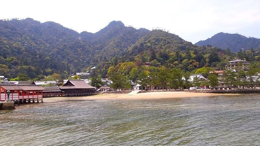 Le mont Misen sur l'Ile de Miyajima photo blog tour du monde https://yoytourdumonde.fr