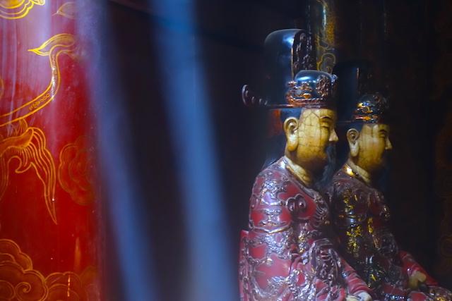 Vietnam temple de Hoa Lu premiere capitale du vietnam photo blog voyage tour du monde http://yoytourdumonde.fr
