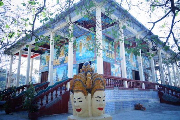 Vous allez pouvoir visiter de nombreux temples bouddhistes du coté de Battambang au Cambodge