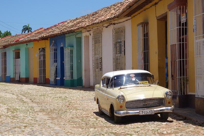 Ville de Trinidad à Cuba. Photo de E.THORSEN de pixabay. Photo sur le blog https://yoytourdumonde.fr