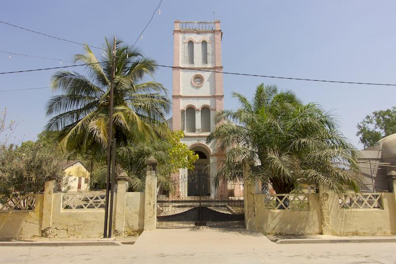 Cathédrale de ziguinchor photo blog voyage tour du monde https://yoytourdumonde.fr