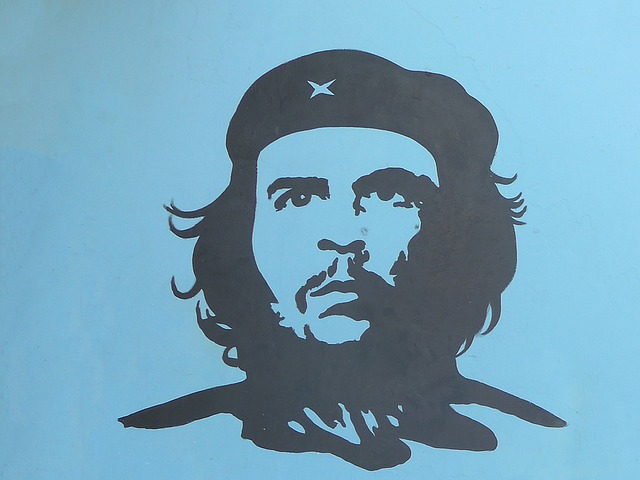 Portrait du Che à Cuba photo blog voyage tour du monde https://yoytourdumonde.fr