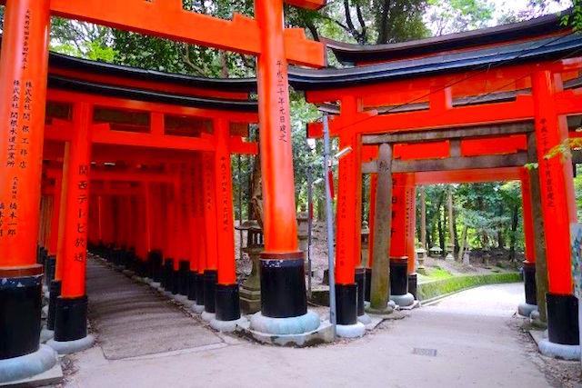Le Fushimi Inari Taisha photo blog voyage tour du ponde http://yoytourdumonde.fr