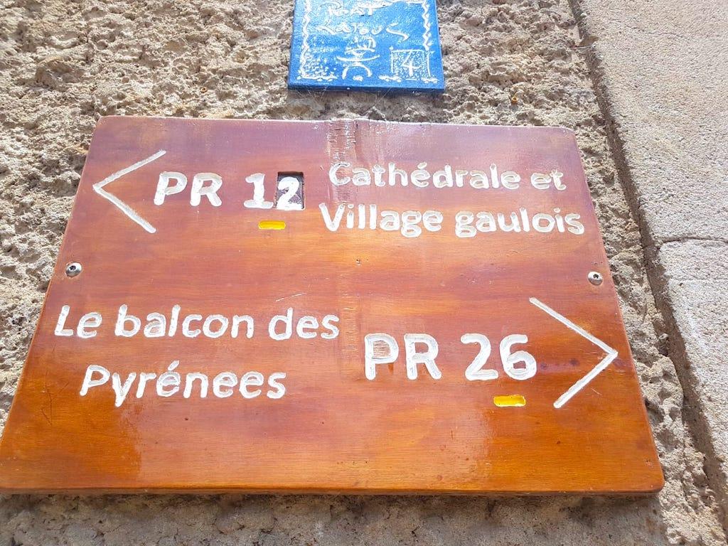 De nombreuses randonnées sont possibles à faire près de Rieux-Volvestre en Haute Garonne photo blog voyage tour du monde https://yoytourdumonde.fr