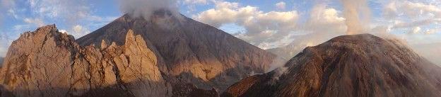Volcan Santiaguito Guatemala photo blog voyage tour du monde travel https://yoytourdumonde.fr
