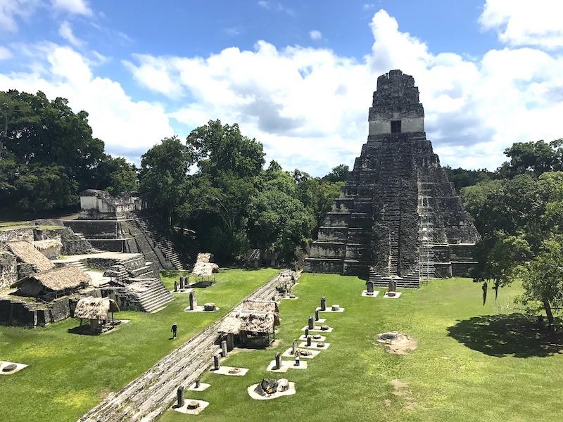 Tikal au Guatemala photo sur Pixabay par ickandgak. Blog voyage tour du monde travel https://yoytourdumonde.fr