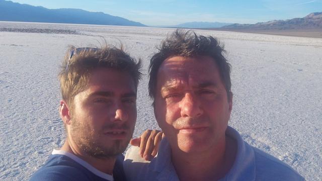 Portrait dans la Vallée de la mort aux USA durant mon périple dans les Parcs de l'Ouest Américain. Photo blog voyage tour du monde http://yoytourdumonde.fr