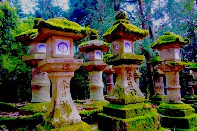 Ancienne capitale du Japon il y a de très nombreux temples dont certains inscrit à l'Unesco à Nara au Japon photo blog voyage tour du monde http://yoytourdumonde.fr