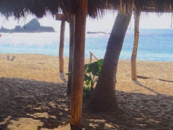 Hotel Mazunte Mexique photo blog voyage tour du monde https://yoytourdumonde.fr