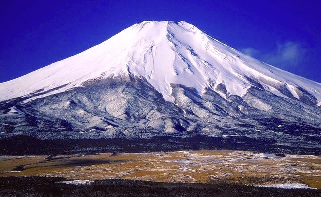 Sa majesté le Mont Fuji emblème du Japon. Photo blog voyage tour du monde http://yoytourdumonde.fr