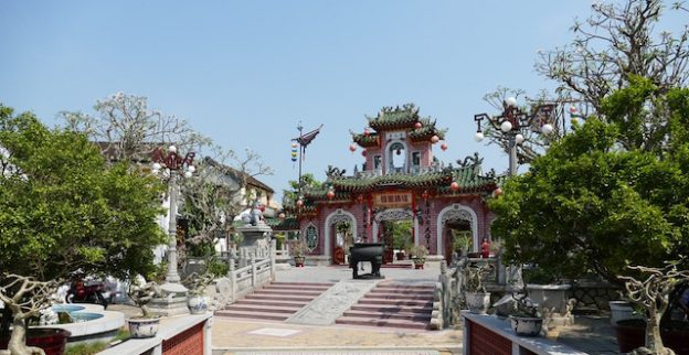 Le majestueux Temple de Phuc Kien d'Hoi An photo blog tour du monde https://yoytourdumonde.fr